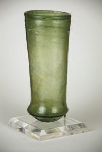 90E Merovingian green bell beaker Late 6th-Early 7th C
