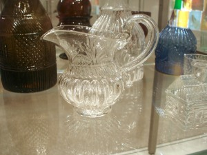 American mold-blown pitcher 1820-1840