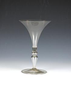 84E French Facon de Venise Wine Goblet 17th Century