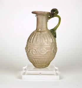 43R Sidonian Bottle with Scoll Design 1st century