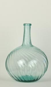 15A Aquamarine swirl bottle