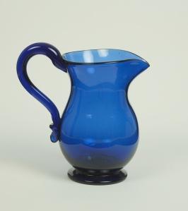63A American Blue Pitcher1850-1900