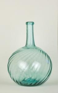 64A Aquamarine swirl bottle