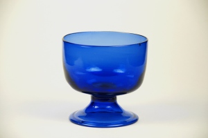 65A American Cobalt Bowl1780-1800