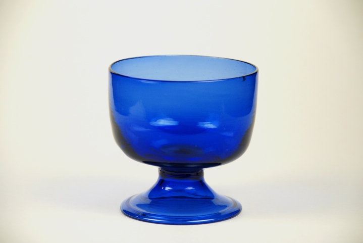 65A American Cobalt Bowl 1780-1800
