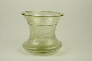 85E Roman or Merovingian Glass Bell Beaker 1st to 6th Century