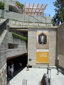 Entrance to Getty Villa