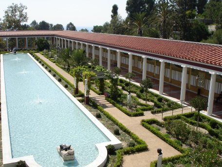 Courtyard at Getty Villa