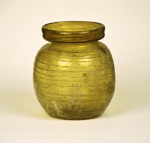 Roman Honey-Colored Trailed Jar 37R