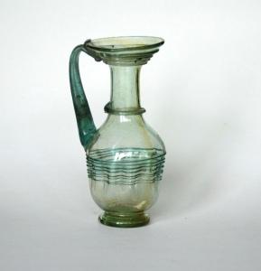 58R Roman coil neck pitcher 4th Century