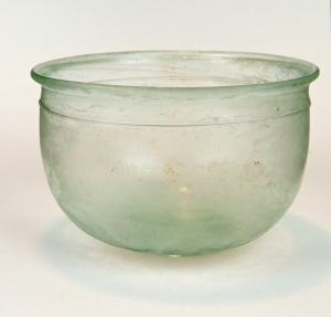 60R Roman bowl with trail 1-2rd Century