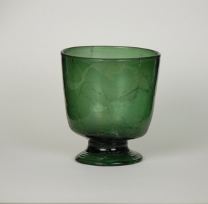 86E Medieval Wald Glass Beaker C. 1500-1550