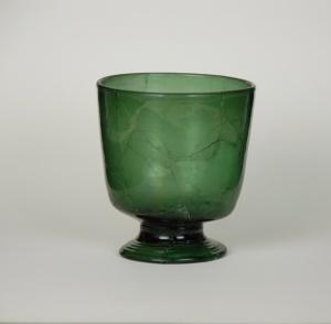 86E Medieval Wald Glass Beaker