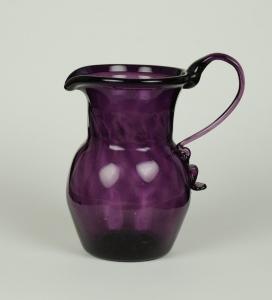 88E Small English amethyst pitcher c. 1780