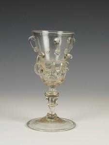 101E German Ring Goblet C. 1620