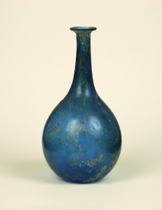 17R Roman blue bottle 1st Century