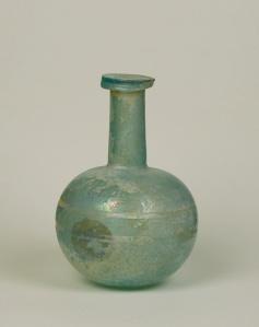 10R Roman wheel-cut flask 2-3rd Century