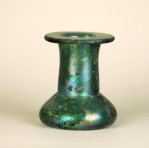 15R Roman spool-shaped unguentarium 2-3rd Century 7.7 cm