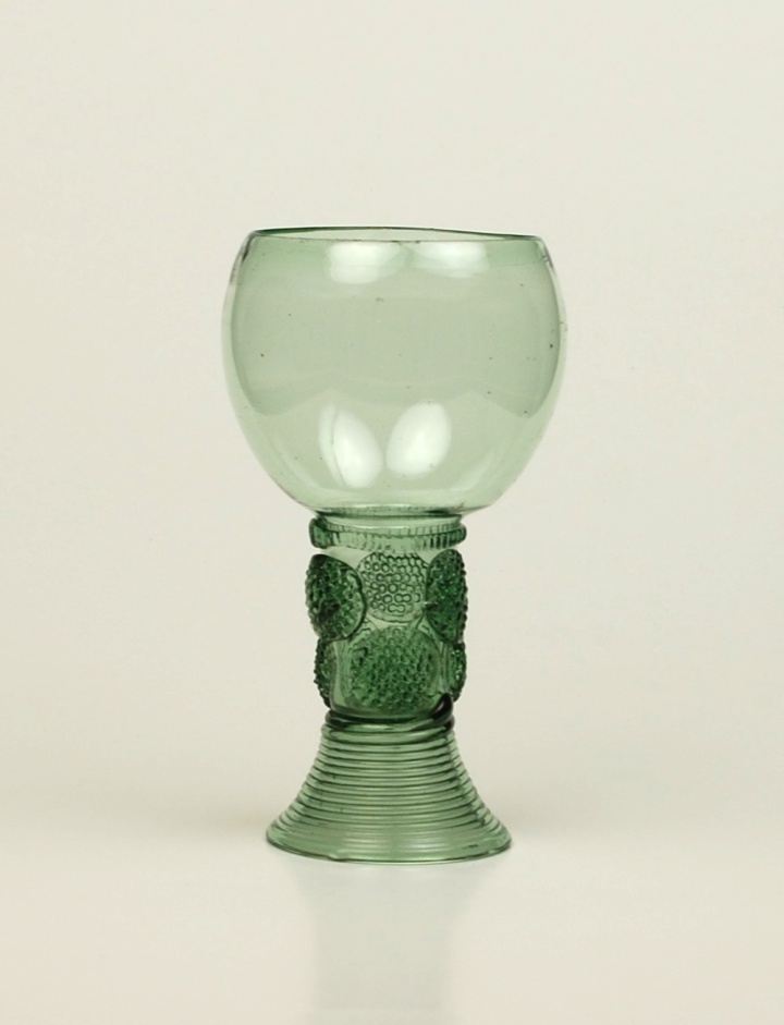 Small Green Glass Roemer 106E