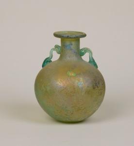 18R Roman glass aryballos 1st Century