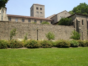 View of Cloisters