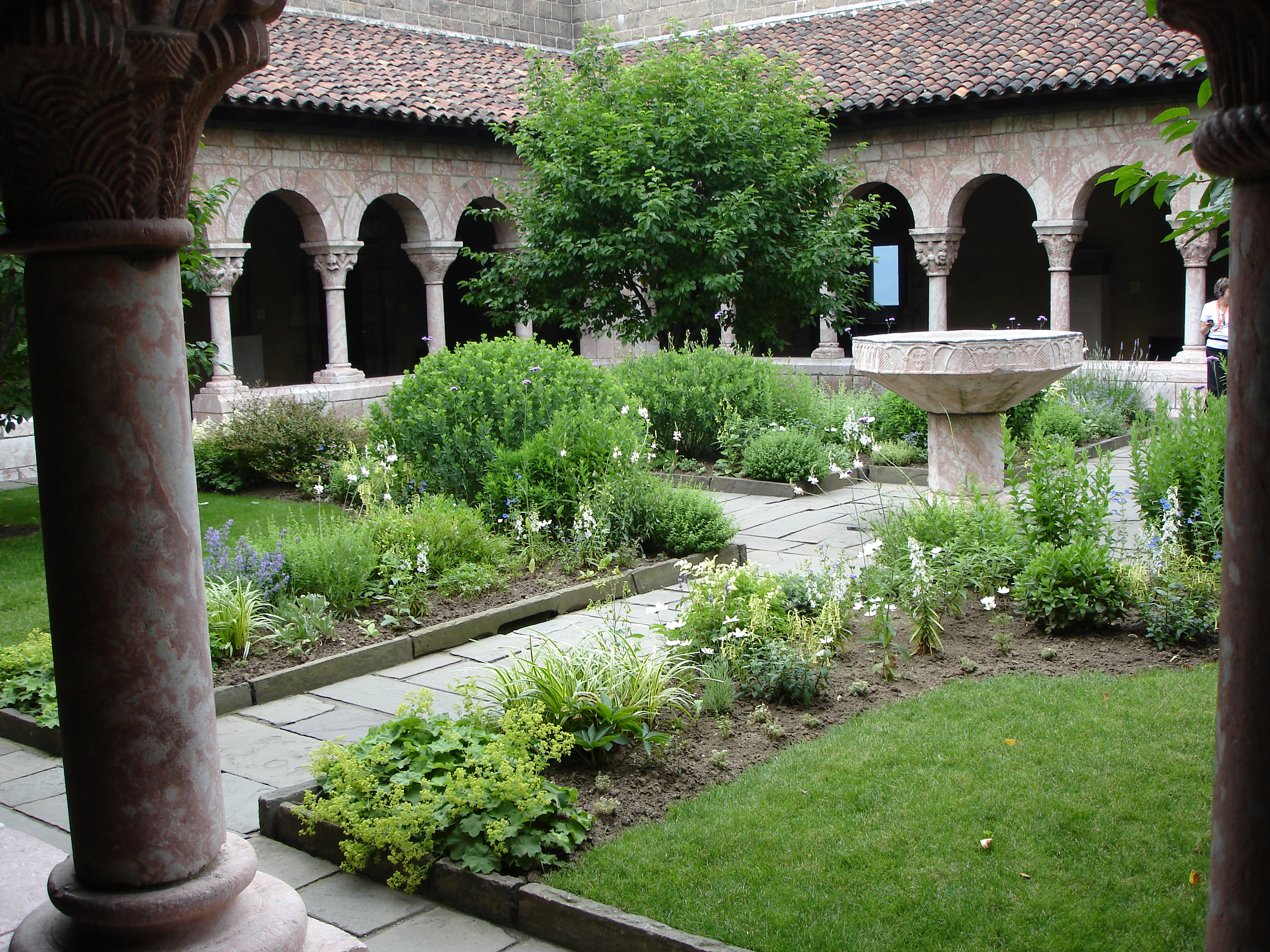 The Cloisters Museum And Gardens In Northern Manhattan