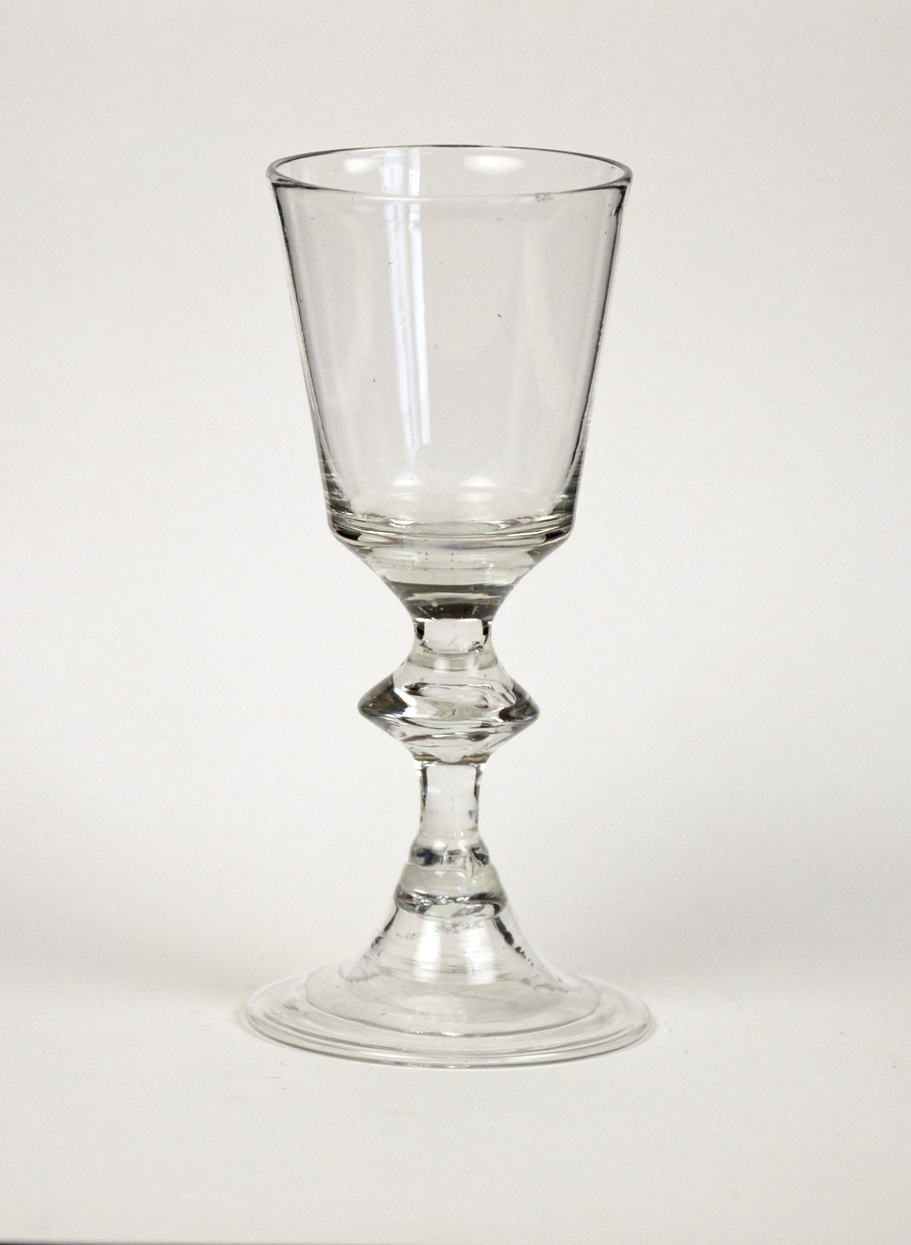 European misc glass spanish glass and enameled - Beaker wine glasses ...