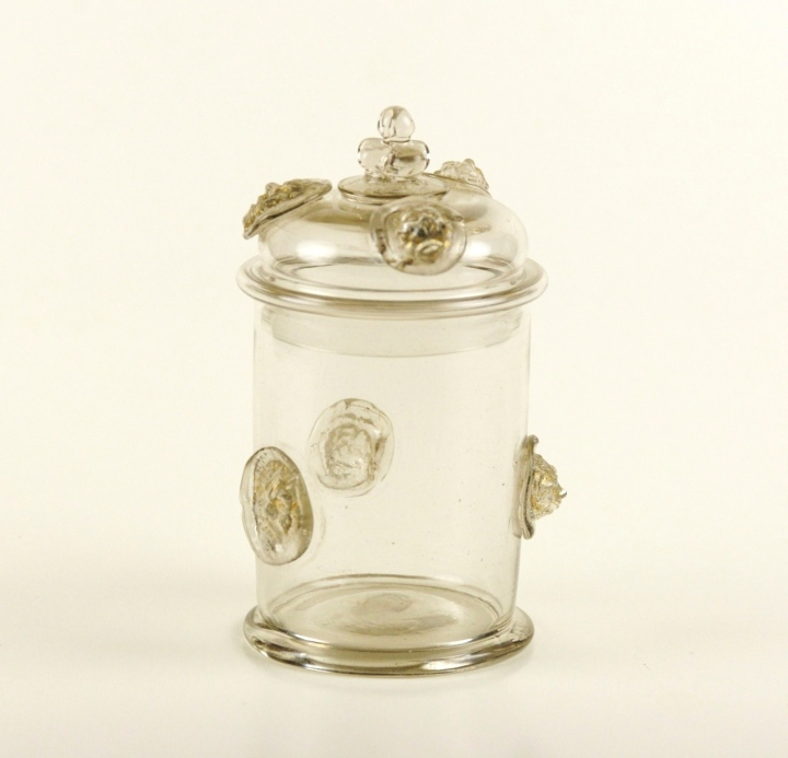 41E Covered Jar