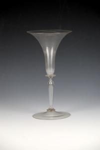 79E Venetian Cristallo Glass Wine C. 1600