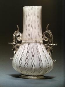 107E Venetian Filigrana Vase 17th Century