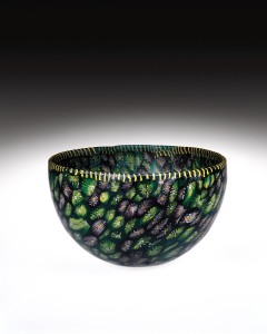 Mosaic Glass Bowl at The Corning Museum of Glass
