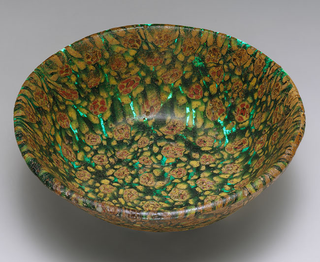 mosaic glass bowl the museum of art with millefiori rouen. Black Bedroom Furniture Sets. Home Design Ideas