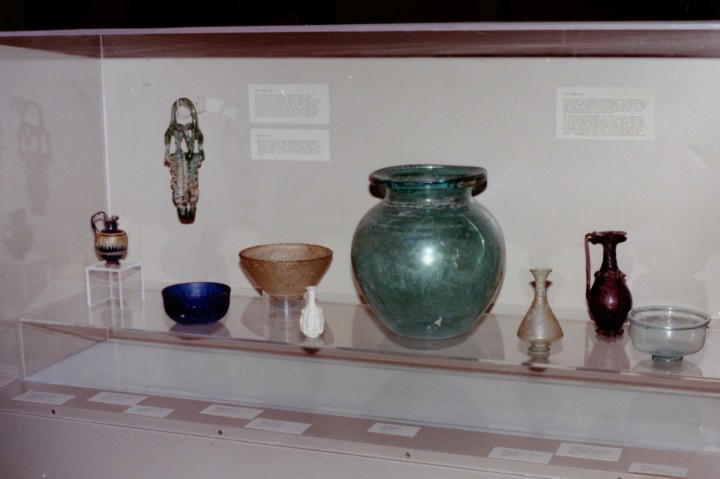 Ancient Roman Glass of Karanis