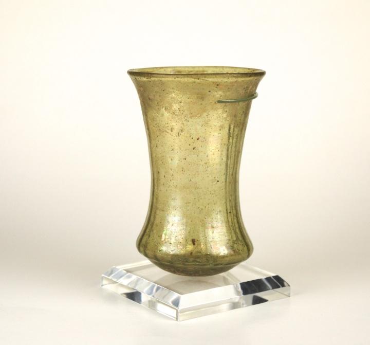 117E Merovingian trailed bell beaker