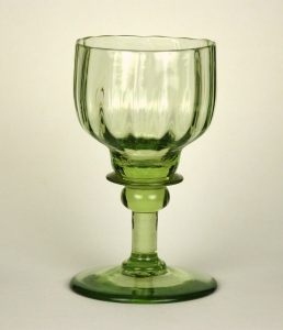 48E Light green Roemer 19-20th C H: 4 ½ inches
