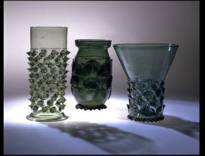 Beakers from German early 17th century