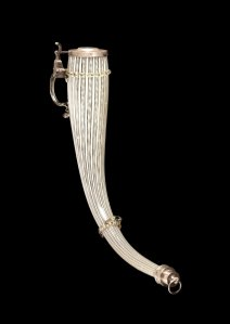Drinking Horn form Low Countries date1575-1625 at Corning Museum of Glass