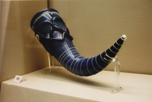 Drinking Horn from the Lombards (Italy) 5th C at British Museum