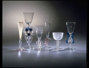 Goblets, Italy (Venice), made by Salviati & C., 1866