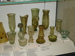 Over view of Frankish and Merovingian glass 2