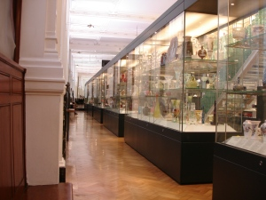 Part of the main glass gallery room 131