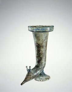 Roman Rhyton  75-125 AD at  Corning Museum of Glass