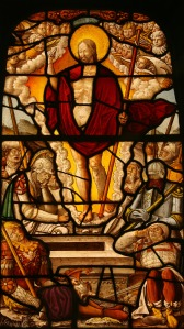 Stained glass panel, depicting Christ's resurrection, Germany, c. 1540–42