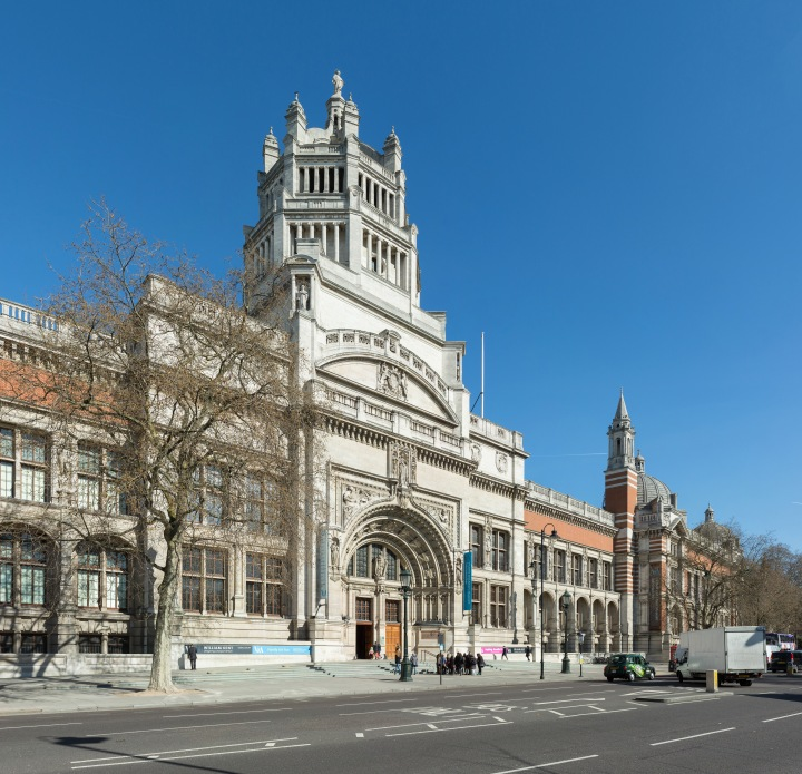 The Victoria and Albert Museum, in London