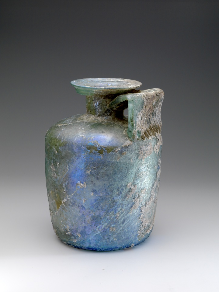 Cylindrical Roman Bottle