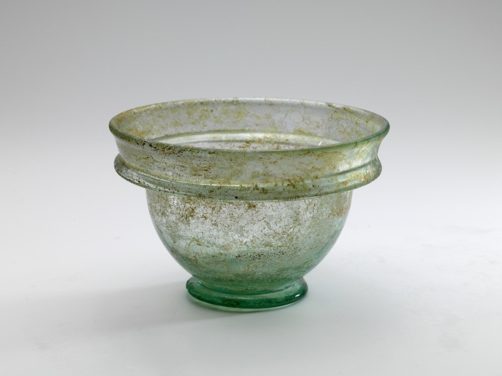 Roman Glass Acetabulum