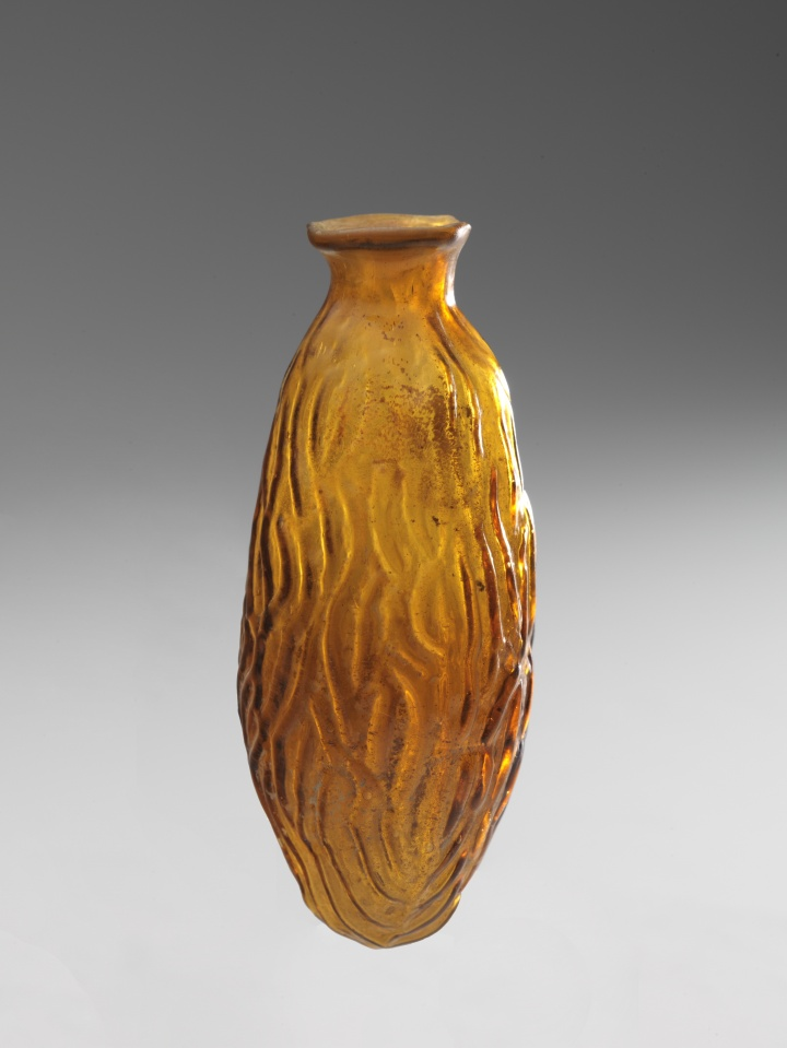ROMAN DATE-SHAPED FLASK