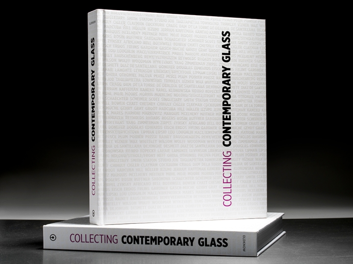 In Black and White Collecting Contemporary glass by Tina Oldknow with a forward by Karol Wight