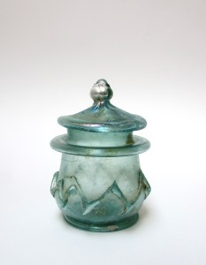 DECORATED PYXIS OR JAR