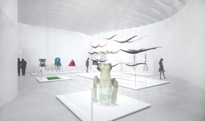Rendering of Body and Narrative Gallery.  Picture from CMOG